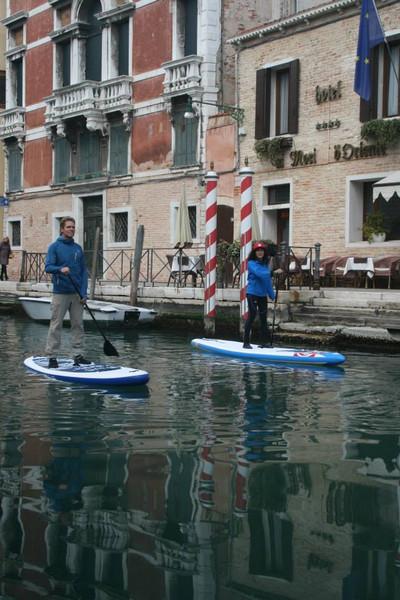 Venice: Stand Up and Gondola Paddling Adventure, January ...