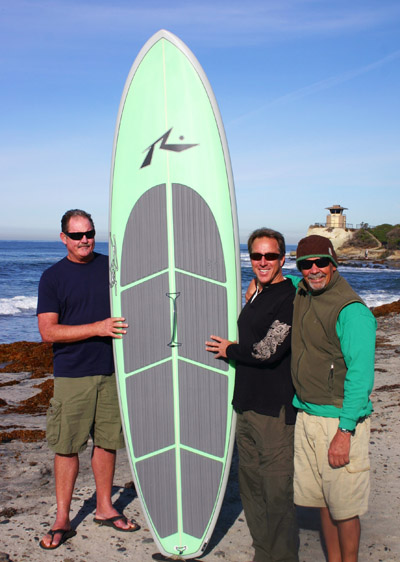 Boardworks Launches Paddle Division Signs On Rusty Sup