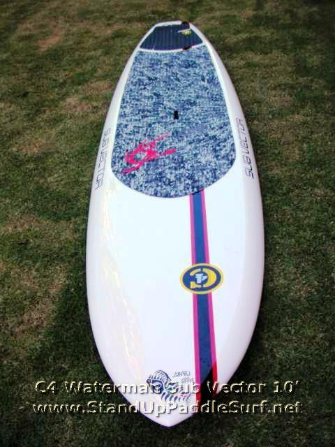 New C4 Waterman Sub Vector 10 At Stand Up Paddle Surfing