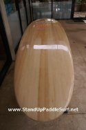 Wood Veneer Stand Up Paddle Surfboard from Wet Feet Hawaii