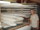 Ron House - stand up paddle surf board master shaper and personal shaper to Laird Hamilton