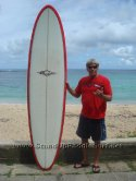 Joe Blair 8-7 Longboard Quad for Big Guys