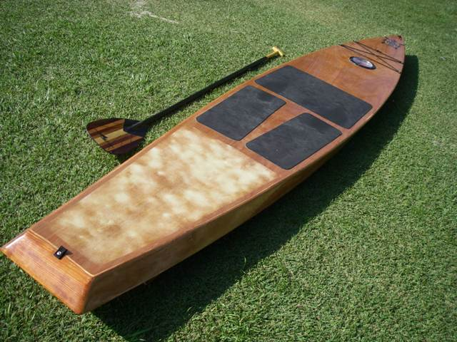 all wood touring stand up paddle kit from gray whale. Black Bedroom Furniture Sets. Home Design Ideas