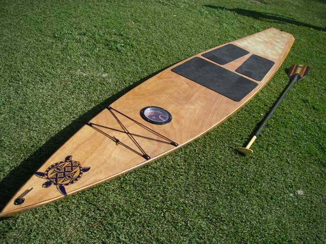 All Wood Touring Stand Up Paddle Kit From Gray Whale Trading Co At