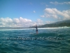 Super Choppy Conditions at Mokuleia on Oahu North Shore