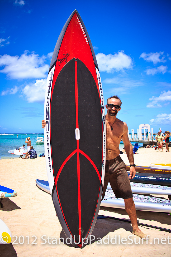 s i c 9 4 sup stand up paddle surfboard at stand up paddle surfing in hawaii. Black Bedroom Furniture Sets. Home Design Ideas