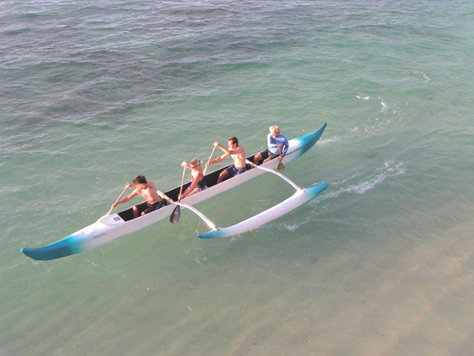C Lion Outrigger Canoe The S.I.C. Mala...
