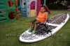 Chair Rig on Angulo 11-9 Stand Up Paddle Surfboard