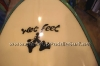 Wet Feet Da Stand Up Kine Custom Stand Up Paddle Surfboard by Brian Caldwell
