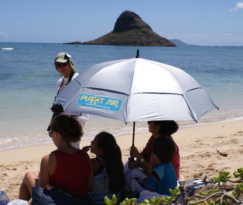 Planet Sun Beach Umbrella