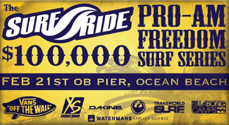 Surf Ride Freedom Pro-Am Surf Series