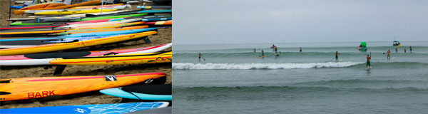 Candice Appleby Wins Battle of the Paddle California