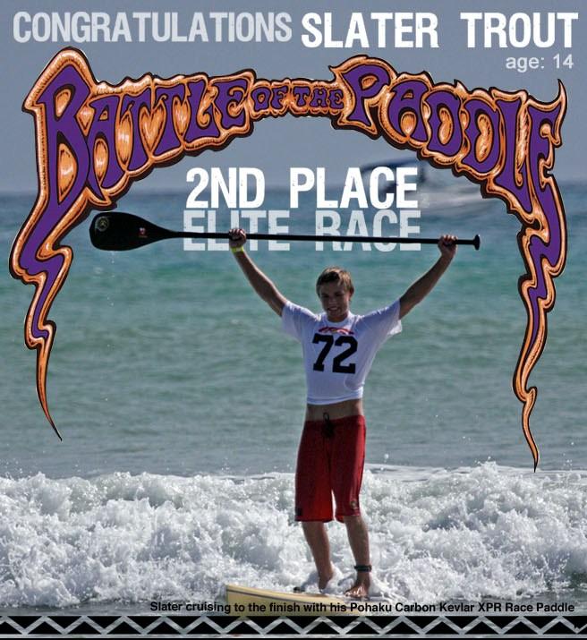 Slater Trout on BOP