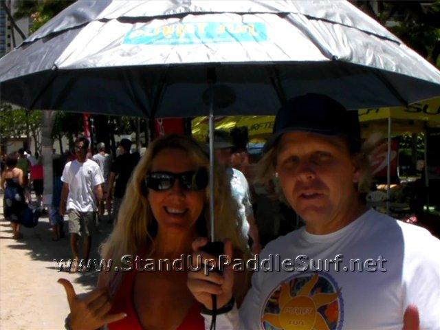 Planet Sun Travel Umbrella At The 2010 Battle